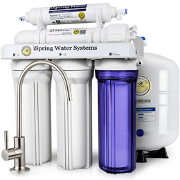 iSpring RCC7 5-Stage Reverse Osmosis Water Filtration System