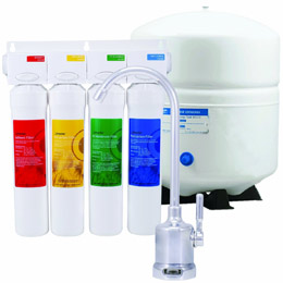 Watts Premier RO-Pure 531411 4-Stage Reverse Osmosis System